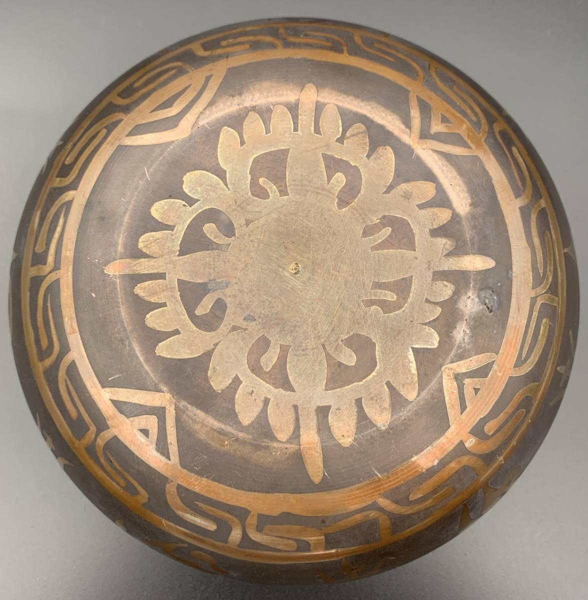 チベット密教法具-シンギングボール(瞑想鈴)-S29