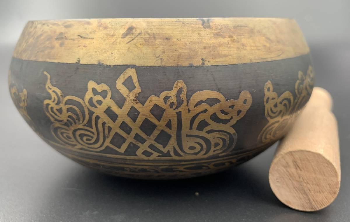 チベット密教法具-シンギングボール(瞑想鈴)-S10