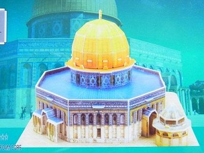 岩のドーム 3Dパズル エルサレム イスラム教 聖地_画像2