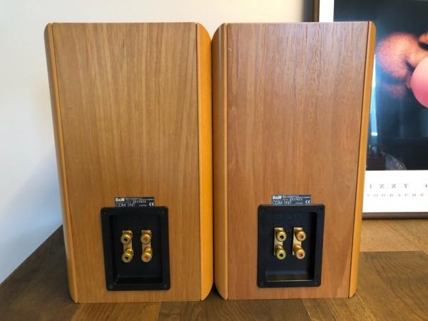 美品 vcyoyo製 銅製フェイズイコライジングプラグ装備 B&W CDM1NT 2ウェイ 2スピーカー バスレフ方式 ブックシェルフ型 ペア シリアル連番_画像5