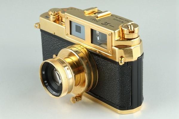 Yasuhara Issiki 安原一式 T981 35mm Rangefinder Film Camera Gold Model #22048_画像2