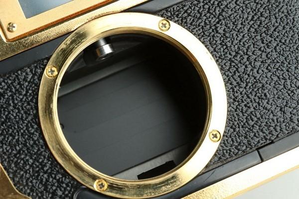 Yasuhara Issiki 安原一式 T981 35mm Rangefinder Film Camera Gold Model #22048_画像6