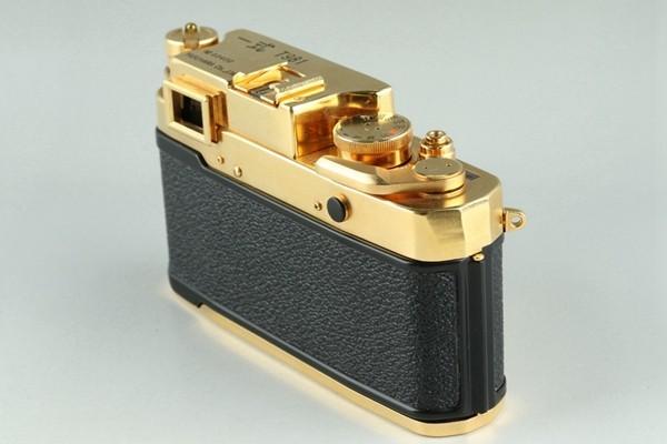Yasuhara Issiki 安原一式 T981 35mm Rangefinder Film Camera Gold Model #22048_画像7