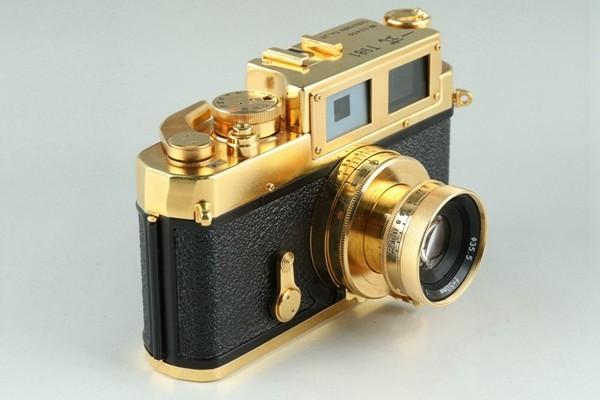 Yasuhara Issiki 安原一式 T981 35mm Rangefinder Film Camera Gold Model #22048_画像3