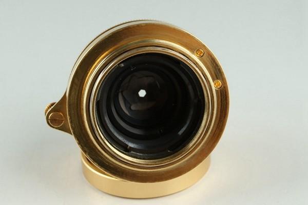 Yasuhara Issiki 安原一式 T981 35mm Rangefinder Film Camera Gold Model #22048_画像5