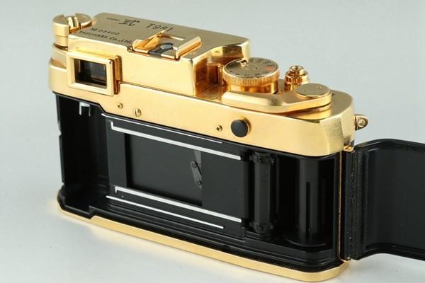 Yasuhara Issiki 安原一式 T981 35mm Rangefinder Film Camera Gold Model #22048_画像9