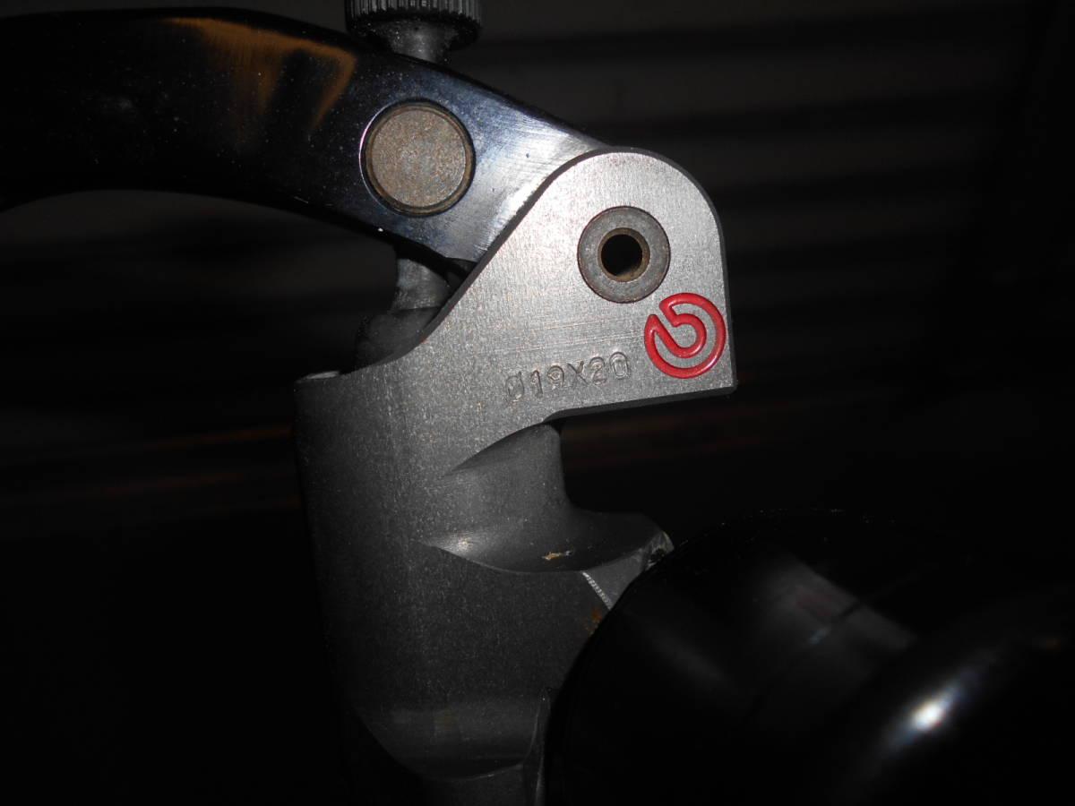 ブレンボ レーシング ラジアルマスター 19X20 クラッチ クラフトマン リザーバータンク付き brembo RCS_画像5