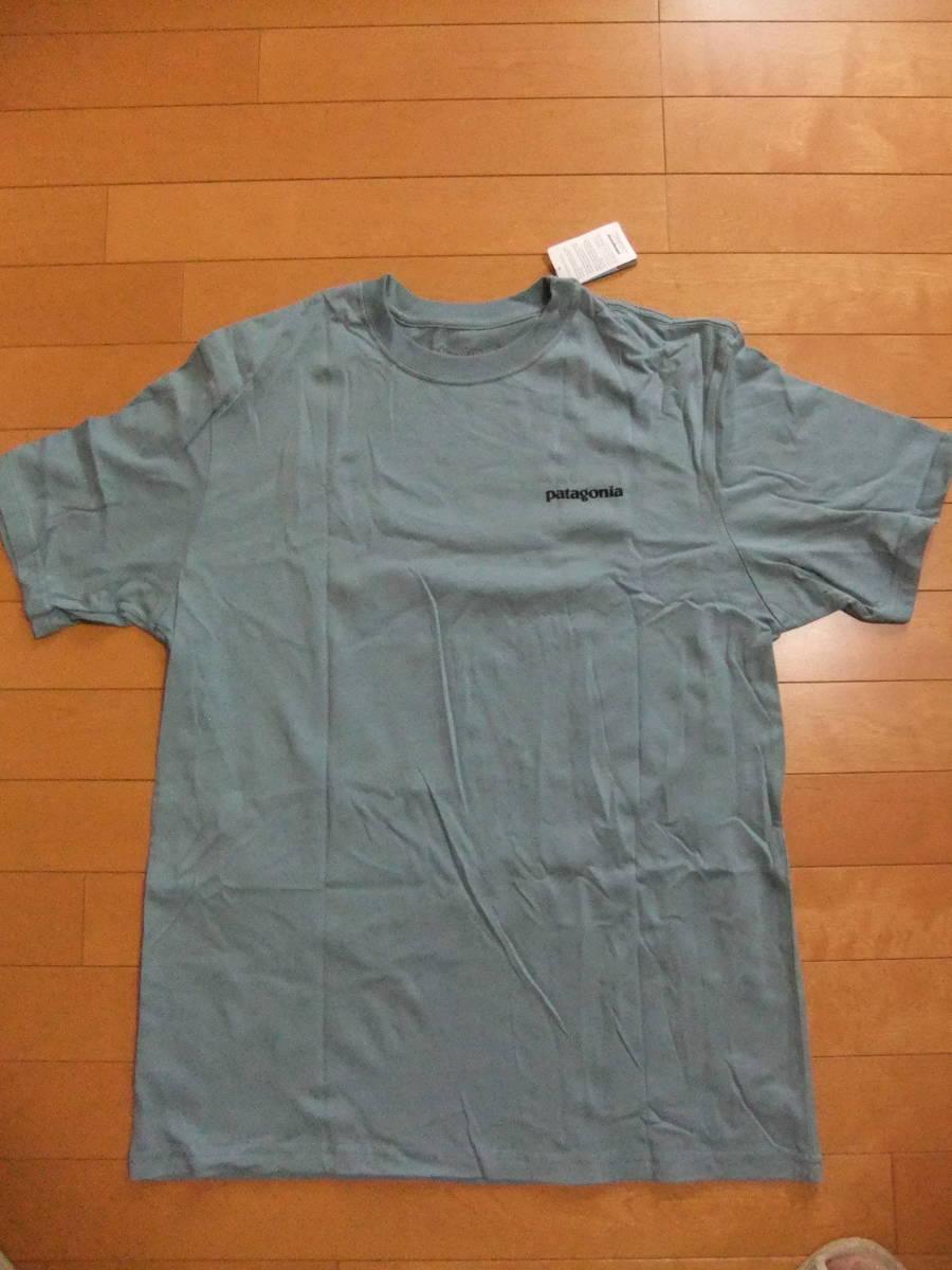 【USA製】patagonia Tシャツ P-6 LOGO T-SHIRT GUL Mサイズ パタゴニア 新品タグ付き MADE IN USA 米国製 国内正規品 希少・入手困難_画像3