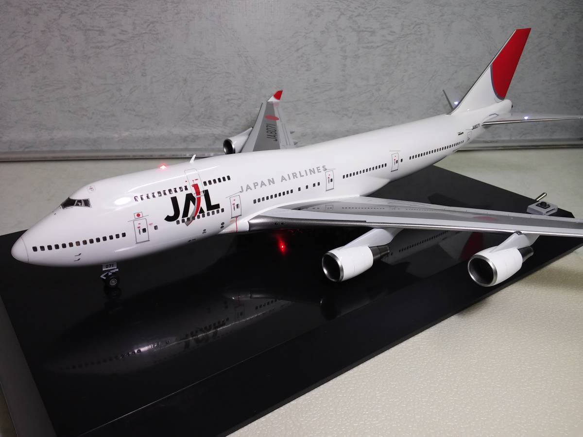1/200 JAL B747-400 with LED and SOUND ハセガワ製 完成品