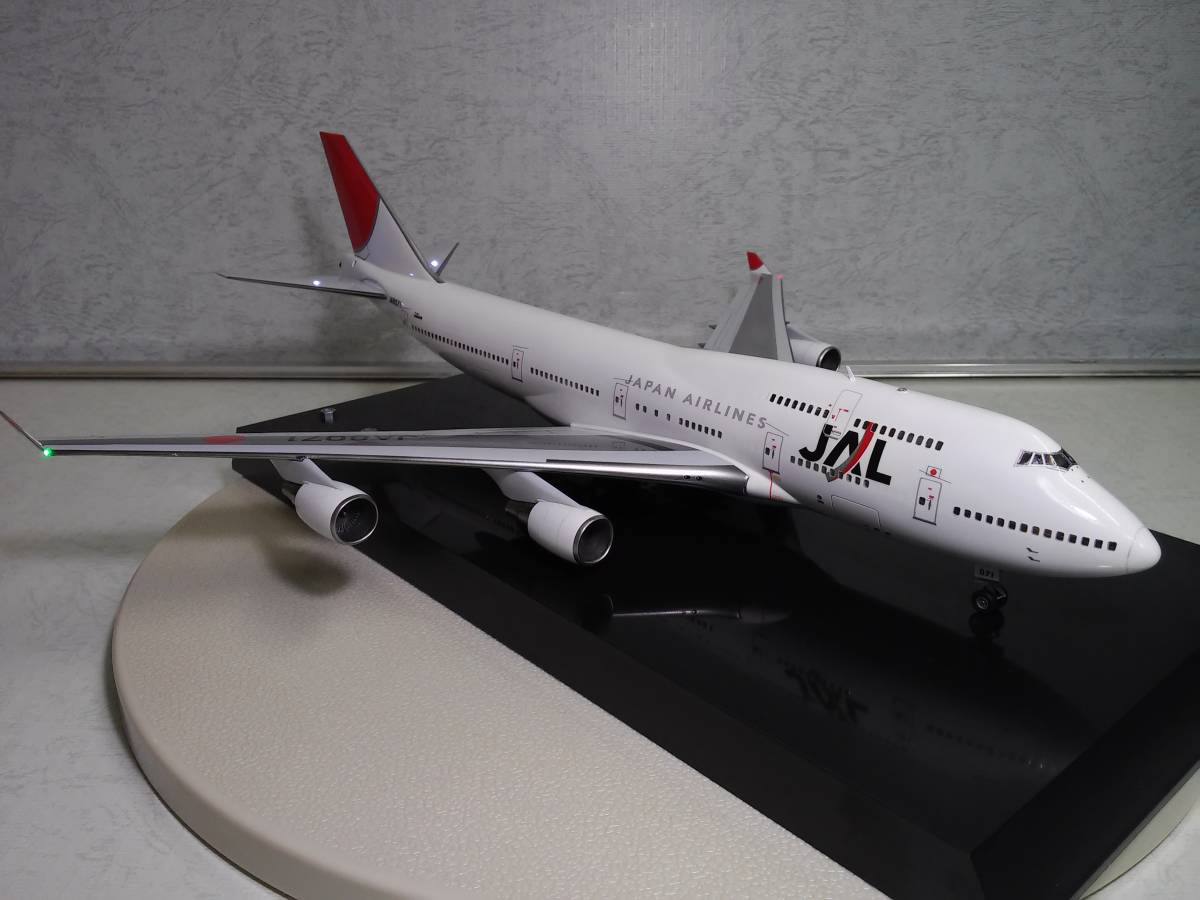 1/200 JAL B747-400 with LED and SOUND ハセガワ製 完成品_画像3