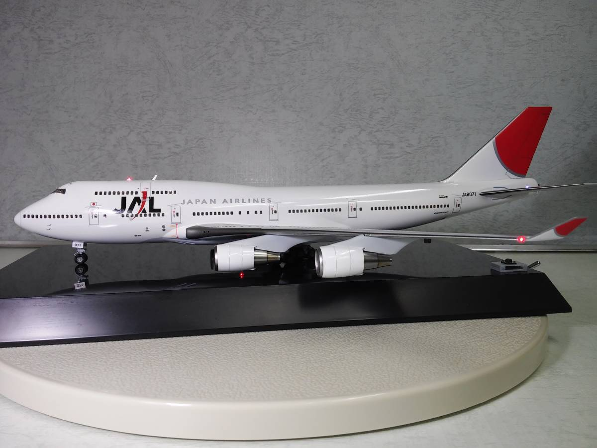 1/200 JAL B747-400 with LED and SOUND ハセガワ製 完成品_画像5