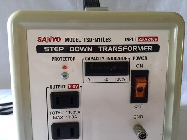 ステップ・ダウン・トランス 三洋 TSD-N11LES_画像3