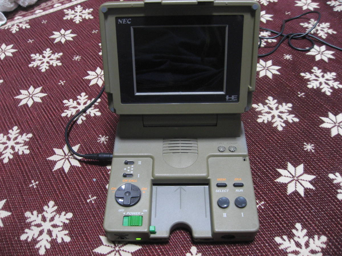 mi*PC engine LT body only Junk : Real Yahoo auction salling