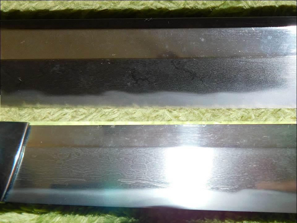 在銘 「加州清光」 太刀 73cm 白鞘 鑑定書付 個人出品_画像6