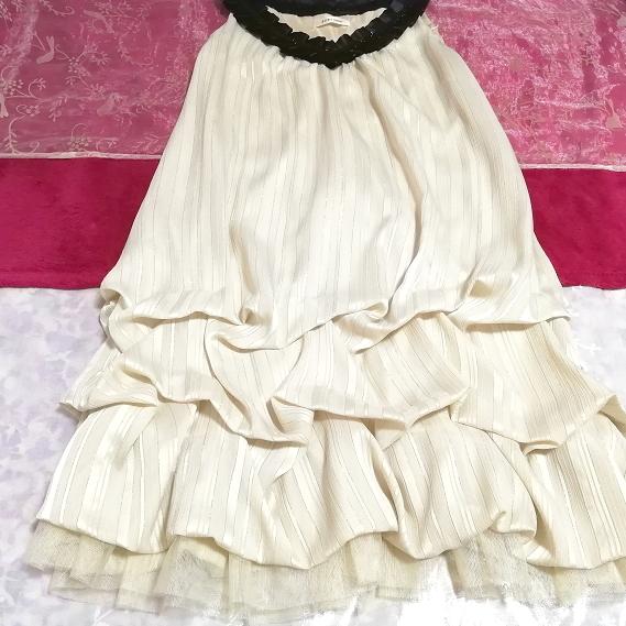 亜麻色ノースリーブチュニックドレス Flax color sleeveless tunic dress_画像3