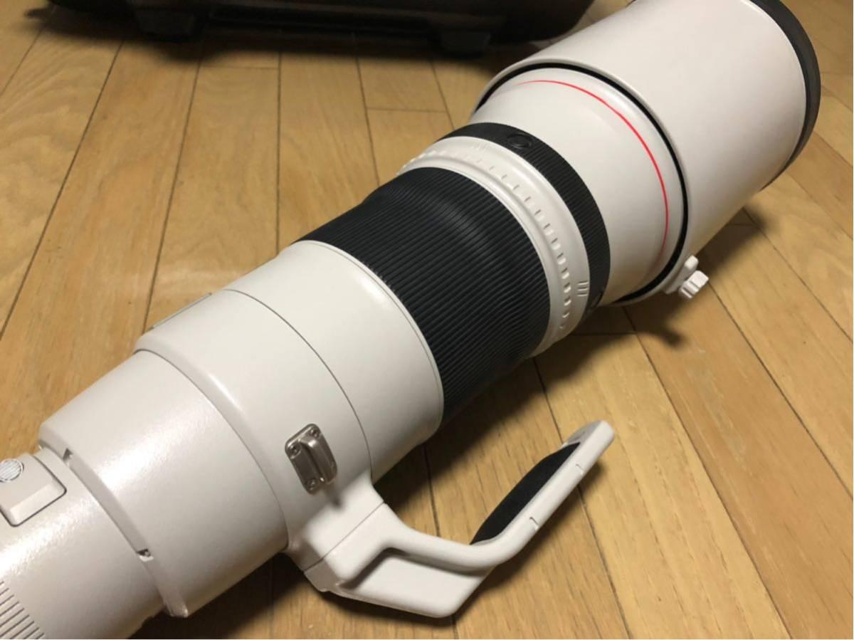 Canon EF 500mm F4L IS II USM レンズ ET-138 フード レンズケース キャノン _画像7