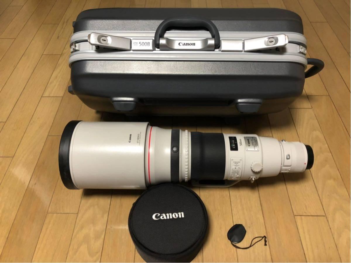 Canon EF 500mm F4L IS II USM レンズ ET-138 フード レンズケース キャノン