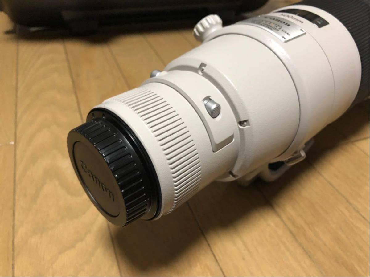 Canon EF 500mm F4L IS II USM レンズ ET-138 フード レンズケース キャノン _画像3
