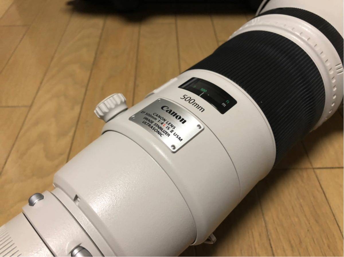 Canon EF 500mm F4L IS II USM レンズ ET-138 フード レンズケース キャノン _画像2