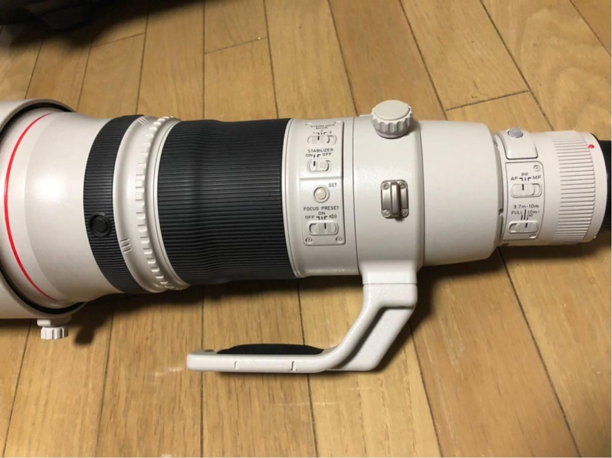 Canon EF 500mm F4L IS II USM レンズ ET-138 フード レンズケース キャノン _画像4