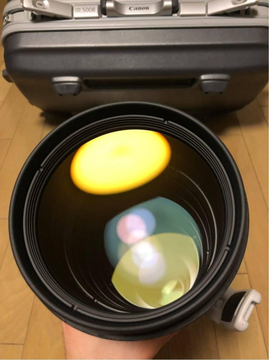 Canon EF 500mm F4L IS II USM レンズ ET-138 フード レンズケース キャノン _画像8