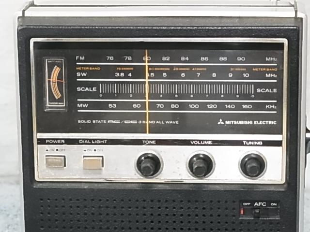 三菱 MITSURISHI FX-930 BCLラジオ ジャンク)扱い 19060467 _画像2