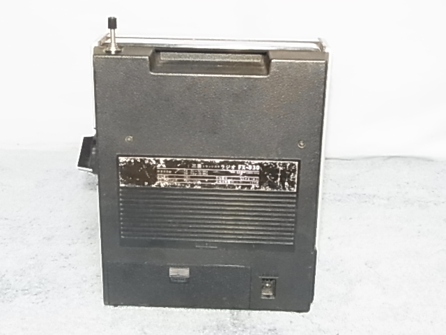 三菱 MITSURISHI FX-930 BCLラジオ ジャンク)扱い 19060467 _画像4