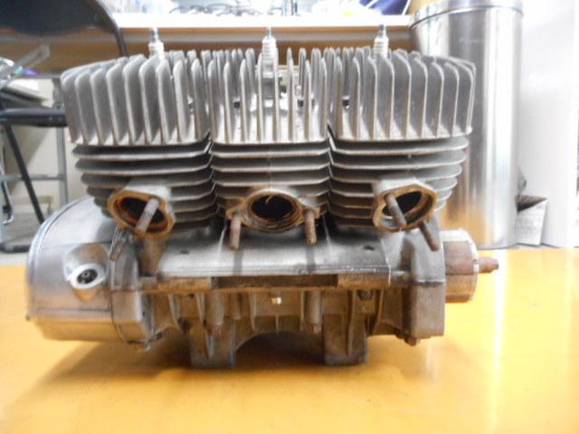 A49 KH250 エンジン SS250 カワサキ マッハ ケッチ 希少 S1E 1円スタート 売り切り  _画像10