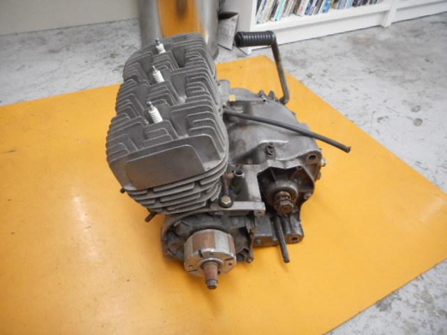 A49 KH250 エンジン SS250 カワサキ マッハ ケッチ 希少 S1E 1円スタート 売り切り  _画像2