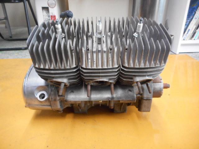 A49 KH250 エンジン SS250 カワサキ マッハ ケッチ 希少 S1E 1円スタート 売り切り  _画像4