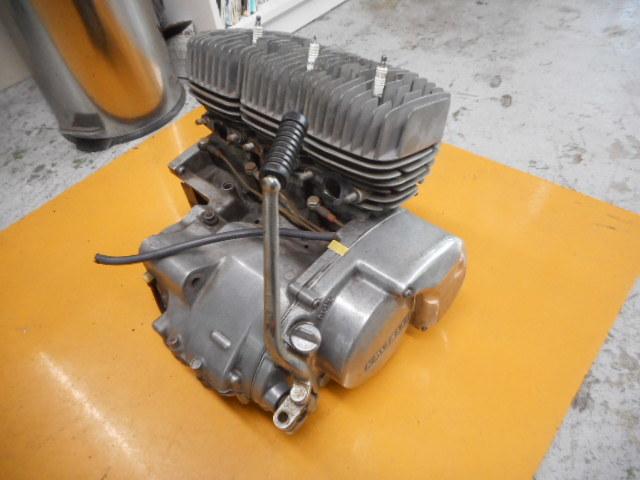A49 KH250 エンジン SS250 カワサキ マッハ ケッチ 希少 S1E 1円スタート 売り切り