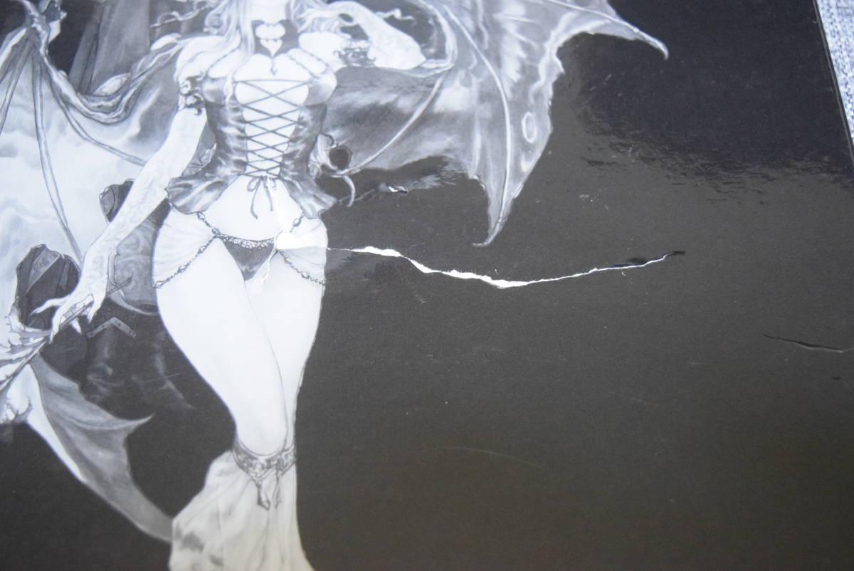 キャッスルヴァニア PS2 限定版 コナミ セット内容:函・PS2ソフト・ミュージックCD、カレンダー、イラスト付き_画像5