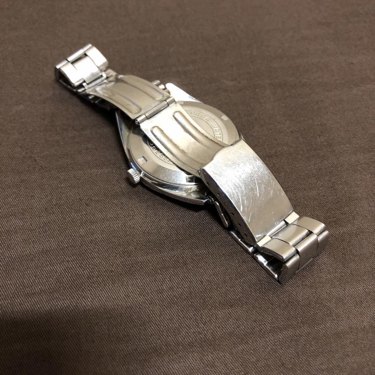 希少 レトロ 1970年代 CITIZEN SevenStars セブンスター 7 PARA WATER AUTOMATIC 21石 自動巻き メンズ腕時計 AP552903.Y 稼働品 ジャンク_画像5