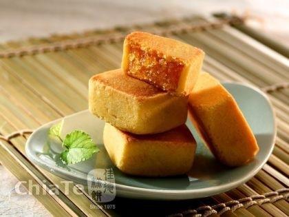台湾 超人気並ぶ名店 佳徳 CHIATEパイナップル ケーキ 6個入_画像3