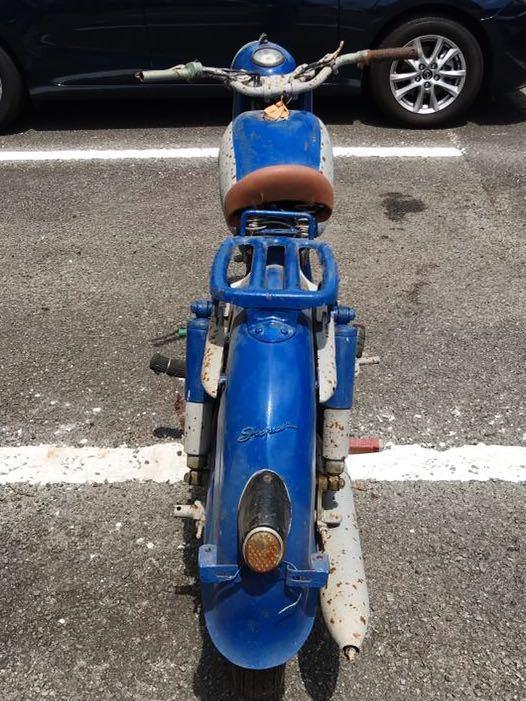 YAMAGUCHI ヤマグチモーター SS310 ? 125cc 走行距離30278km 山口自転車 レストアベース 部品取り 現状 ⑦-17_画像5