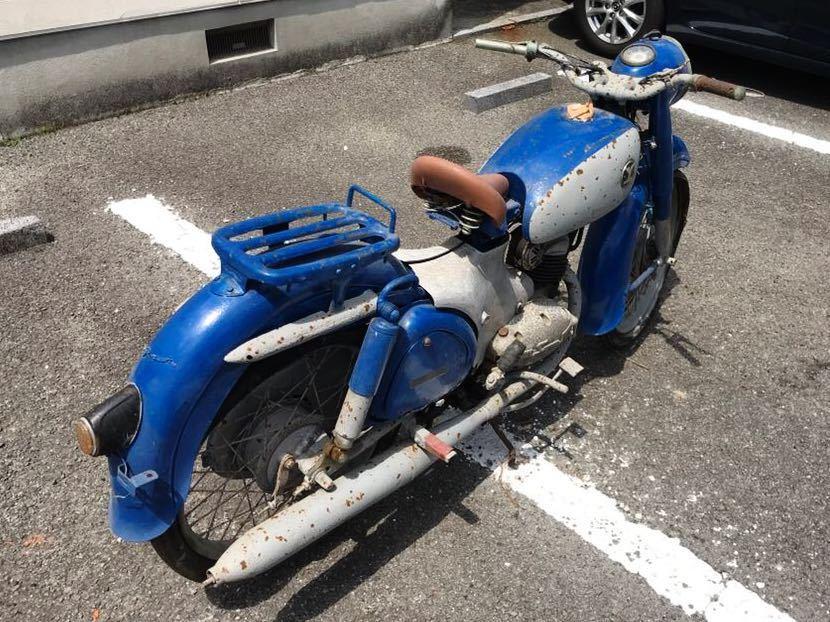 YAMAGUCHI ヤマグチモーター SS310 ? 125cc 走行距離30278km 山口自転車 レストアベース 部品取り 現状 ⑦-17_画像4