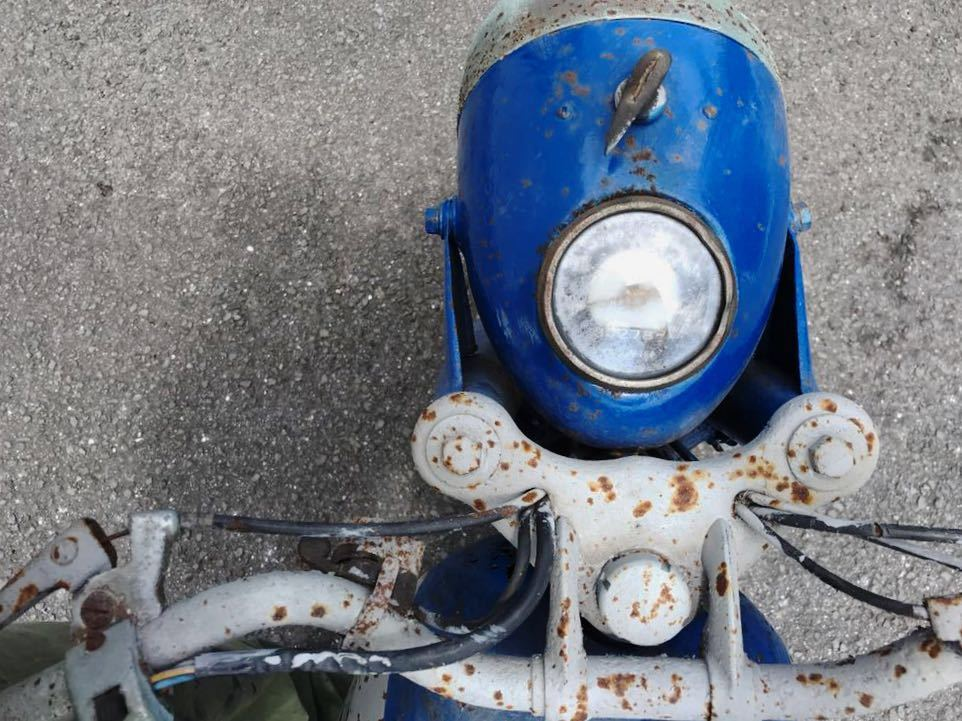 YAMAGUCHI ヤマグチモーター SS310 ? 125cc 走行距離30278km 山口自転車 レストアベース 部品取り 現状 ⑦-17_画像10