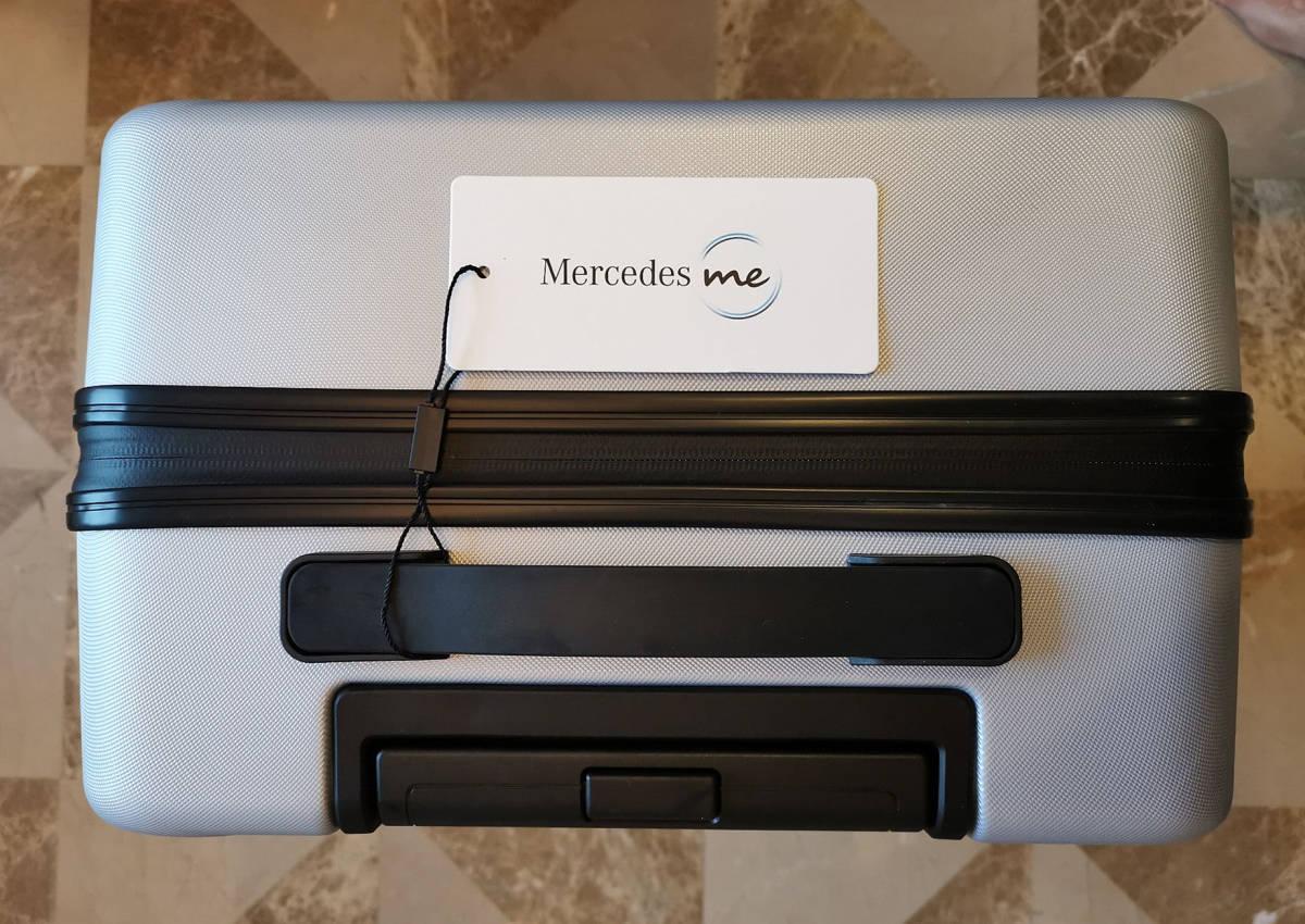 正規品※最上級・定価12万※メルセデス・ベンツ/Mercedes-me ・公式・オリジナル・スーツケース・キャリーケース・銀_画像8