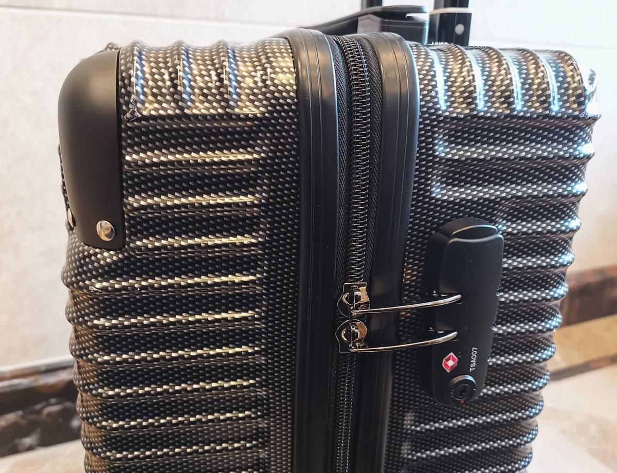 最高級※BMW/ビーエムダブリュー 超軽量・TSAロック搭載・カーボン限定色・スーツケース・キャリーケース※機内持ち込み可能_画像6
