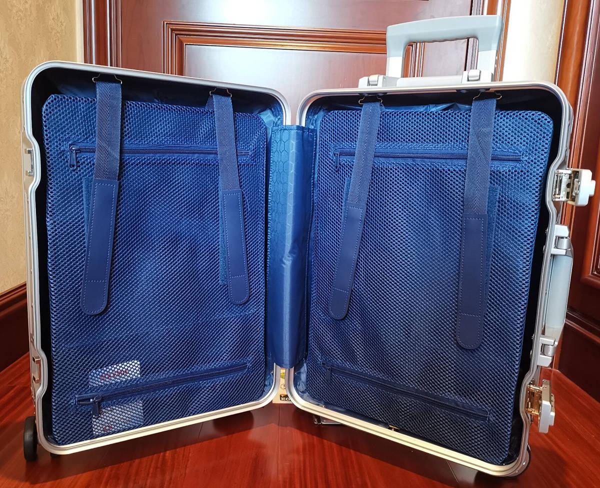 高品質※EU基準※純正アルミマグネシウム合金製・軽量/静音・TSAロック搭載スーツケース・キャリーケース※限定ステッカー付5枚付_画像10