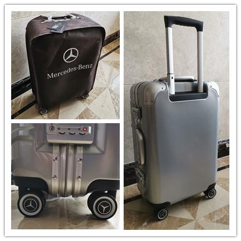最高級※定価12万※メルセデス・ベンツ/Mercedes-Benz アルミフレーム・軽量/静音・オリジナル・スーツケース・キャリーケース_画像10