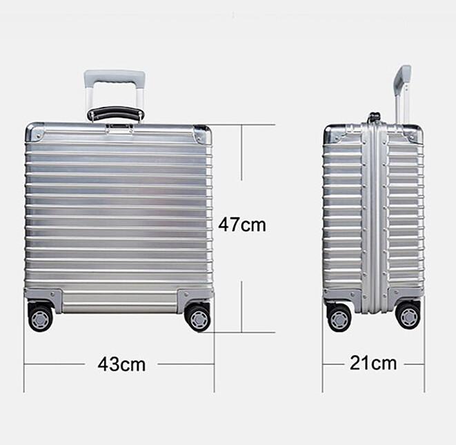 最高品質※EU基準・定価10万円※オールアルミマグネシウム合金製・軽量/静音・TSAロック搭載スーツケース※機内持ち込可 /限定ステッカー付_画像8