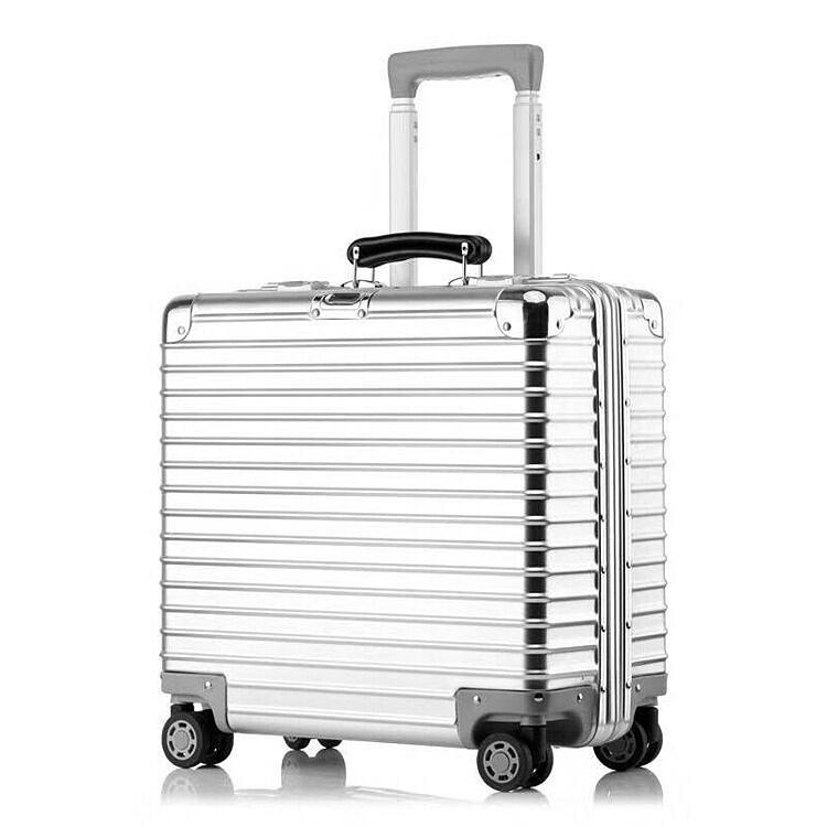 最高品質※EU基準・定価10万円※オールアルミマグネシウム合金製・軽量/静音・TSAロック搭載スーツケース※機内持ち込可 /限定ステッカー付_画像5