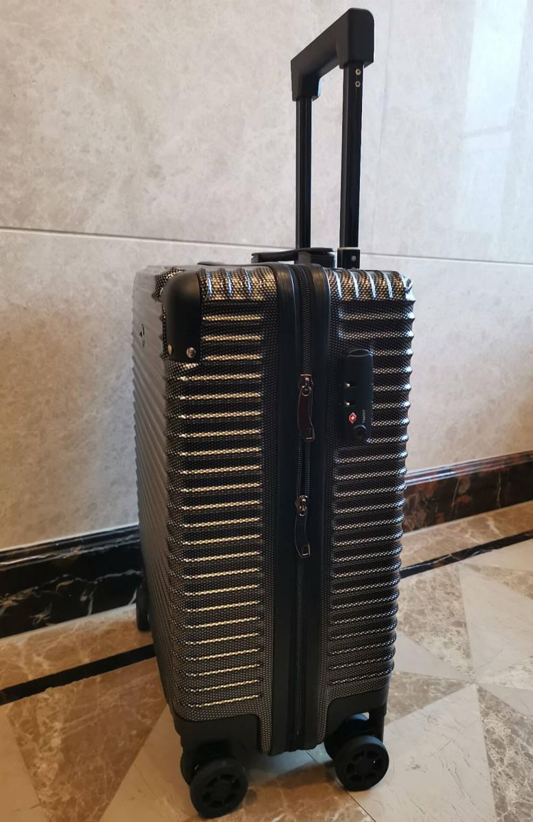 最高級※BMW/ビーエムダブリュー 超軽量・TSAロック搭載・カーボン限定色・スーツケース・キャリーケース※機内持ち込み可能_画像5