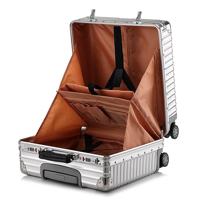 最高品質※EU基準・定価10万円※オールアルミマグネシウム合金製・軽量/静音・TSAロック搭載スーツケース※機内持ち込可 /限定ステッカー付_画像6