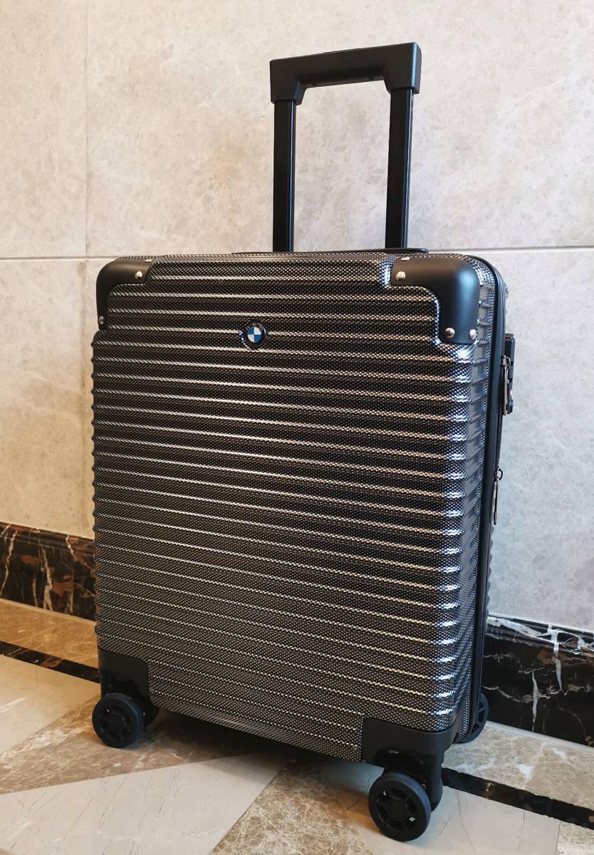 最高級※BMW/ビーエムダブリュー 超軽量・TSAロック搭載・カーボン限定色・スーツケース・キャリーケース※機内持ち込み可能_画像2