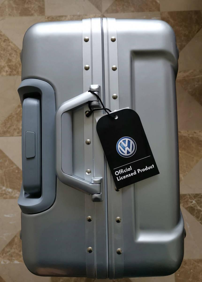 最高級※フォルクスワーゲン/Volkswagen アルミフレーム・軽量/静音・オリジナル・スーツケース・キャリーケース/60L_画像5