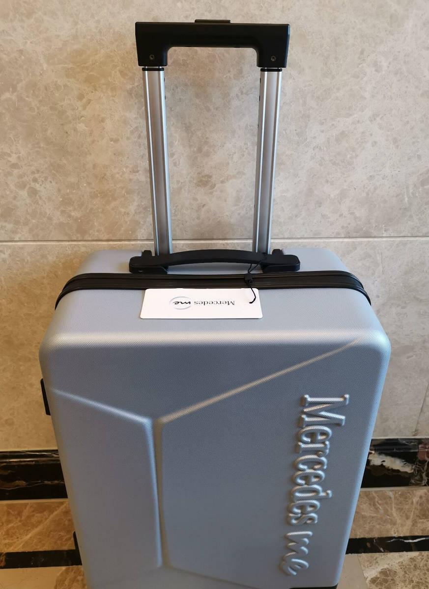 正規品※最上級・定価12万※メルセデス・ベンツ/Mercedes-me ・公式・オリジナル・スーツケース・キャリーケース・銀_画像4