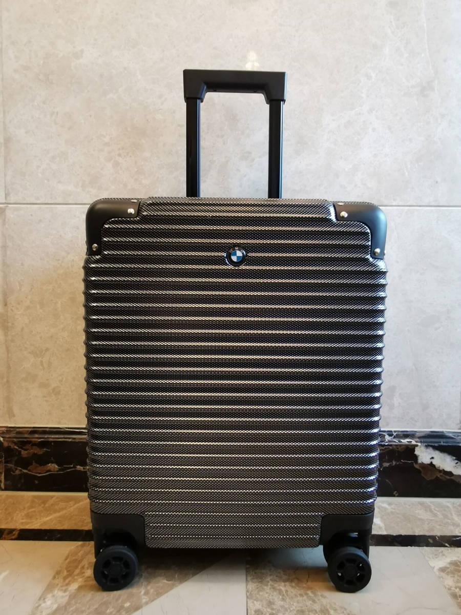 最高級※BMW/ビーエムダブリュー 超軽量・TSAロック搭載・カーボン限定色・スーツケース・キャリーケース※機内持ち込み可能