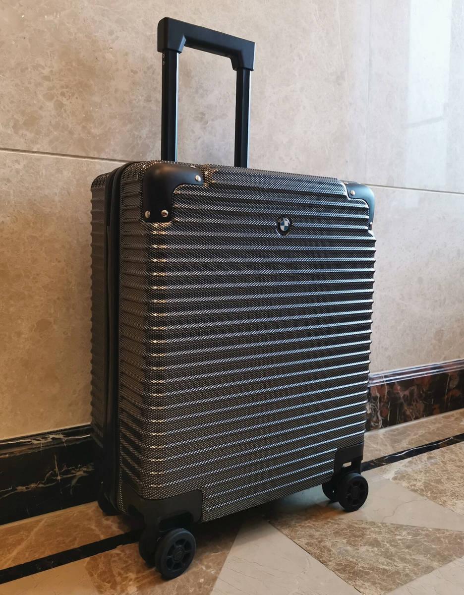 最高級※BMW/ビーエムダブリュー 超軽量・TSAロック搭載・カーボン限定色・スーツケース・キャリーケース※機内持ち込み可能_画像3